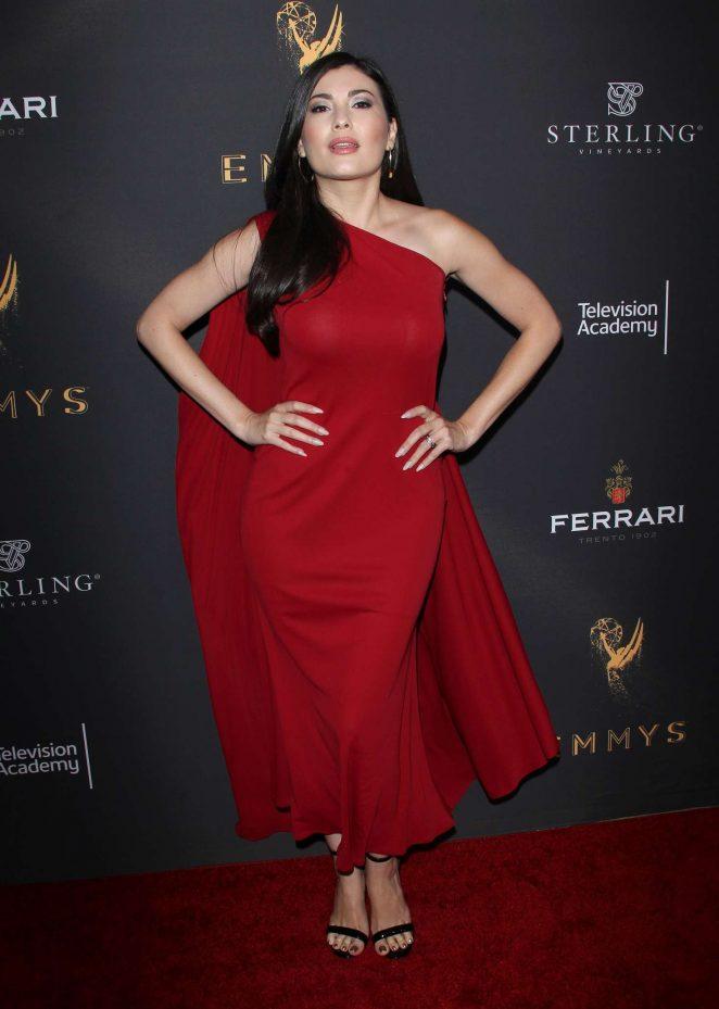 Celeste Thorson: Emmys Cocktail Reception -12