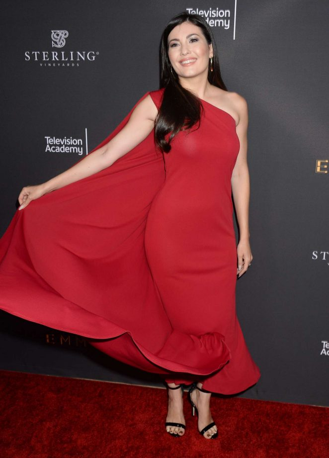Celeste Thorson: Emmys Cocktail Reception -23