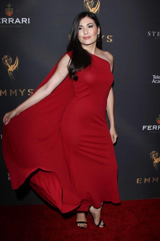 Celeste Thorson: Emmys Cocktail Reception -31