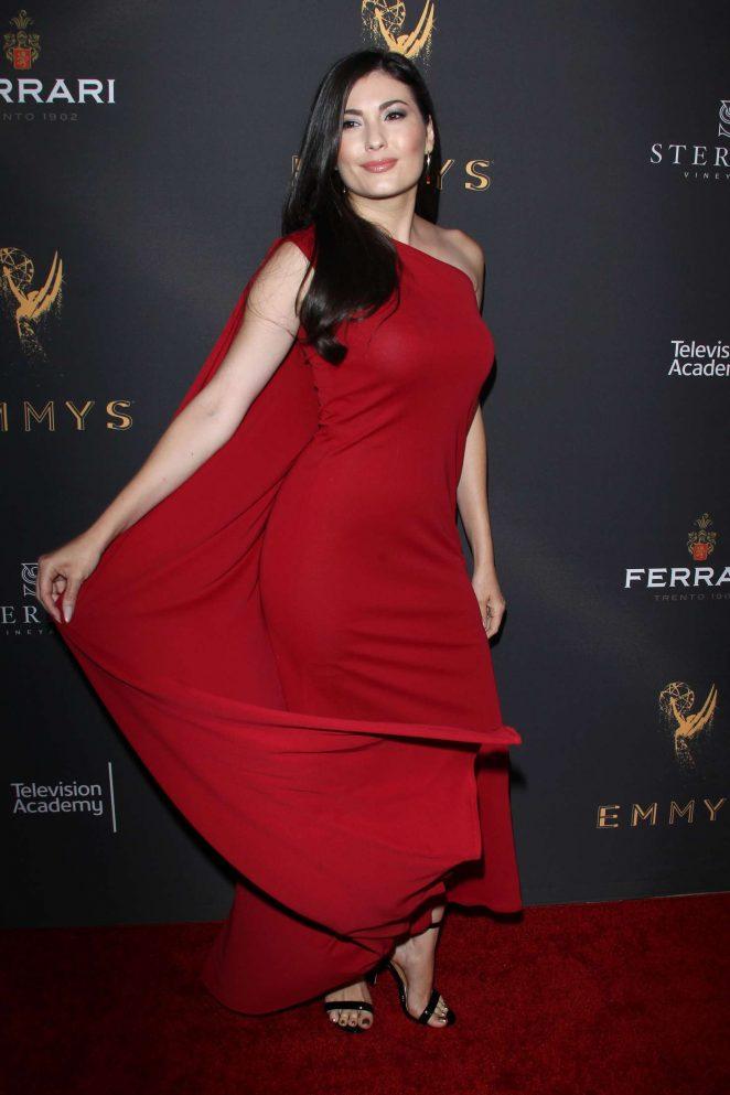Celeste Thorson: Emmys Cocktail Reception -32