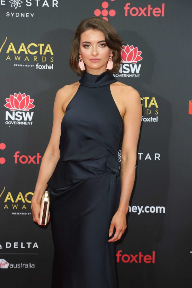 Celia Massingham - 2017 AACTA Awards in Sydney