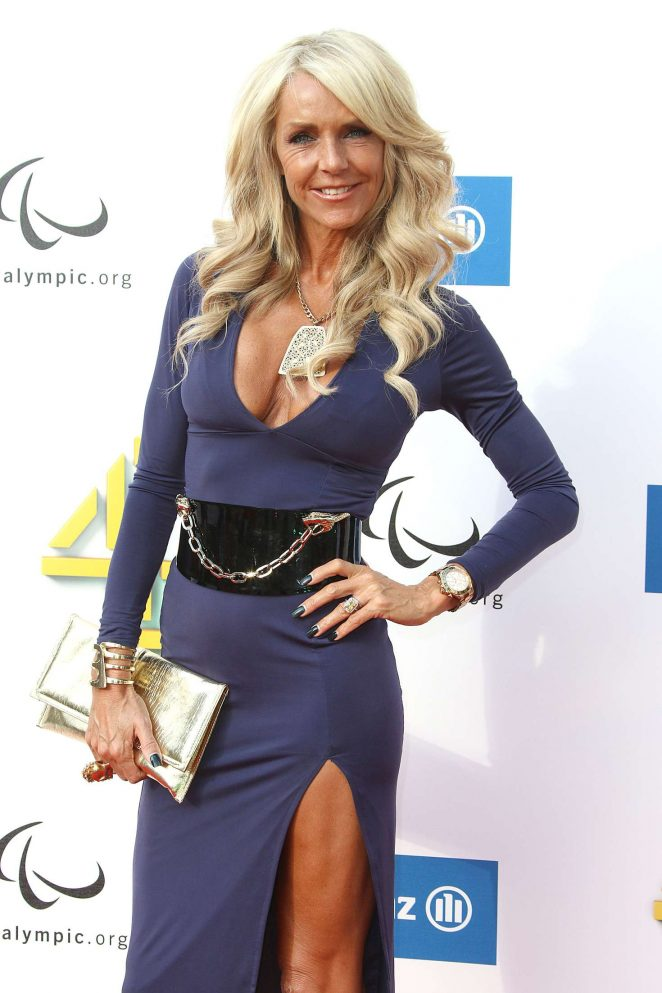 Celia Sawyer - Channel 4 Red Carpet Paralympic Launch in London