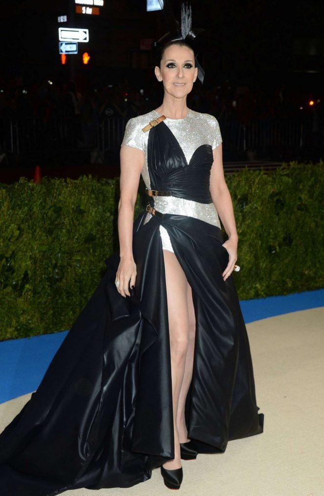 Celine Dion – 2017 MET Costume Institute Gala in NYC