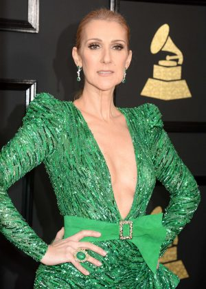 Celine Dion - 59th GRAMMY Awards in Los Angeles