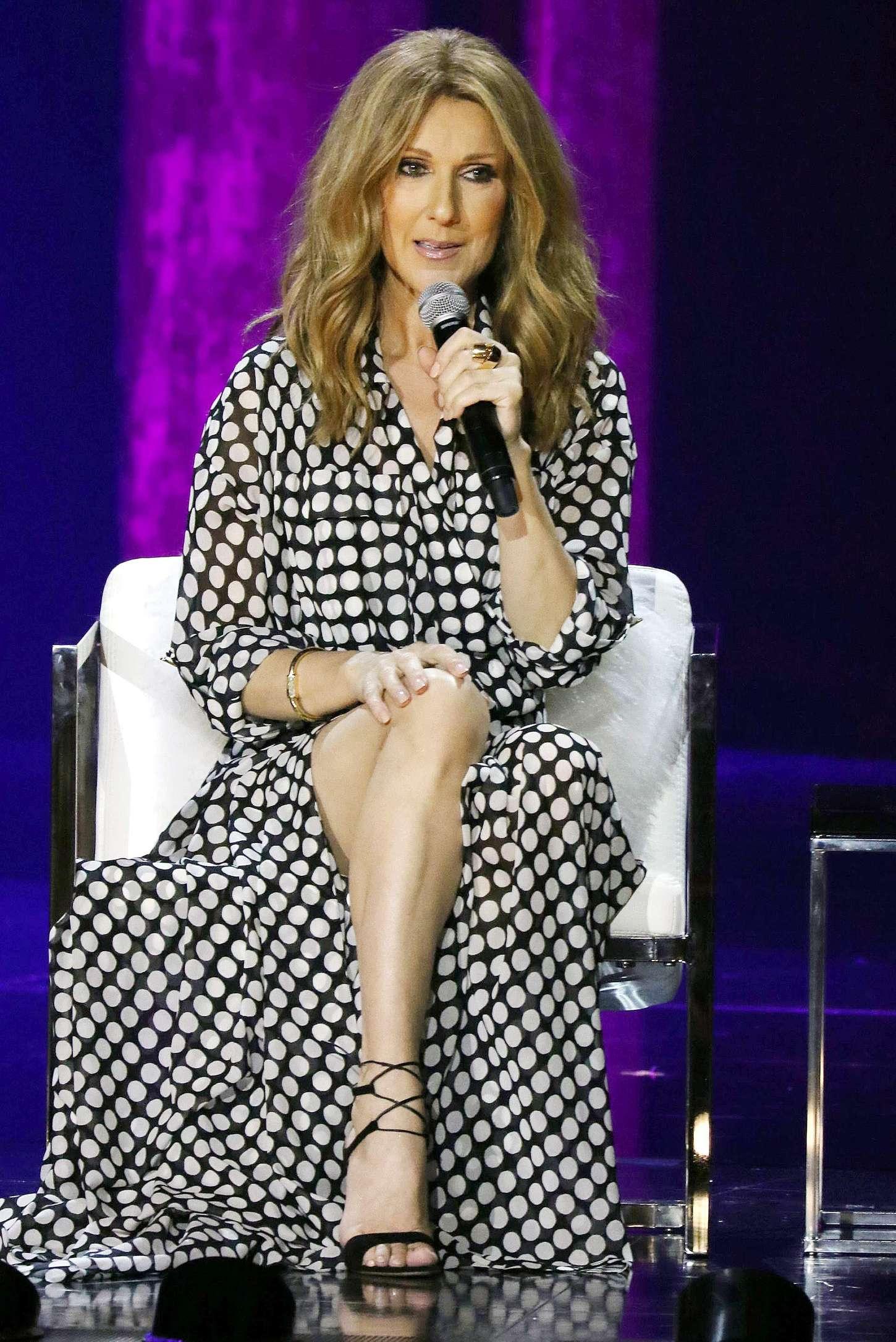 Celine Dion At Colosseum In Las Vegas Gotceleb