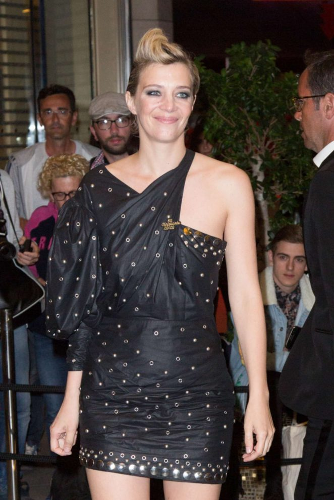Celine Sallette – Arriving for the Dior Dinner in Cannes