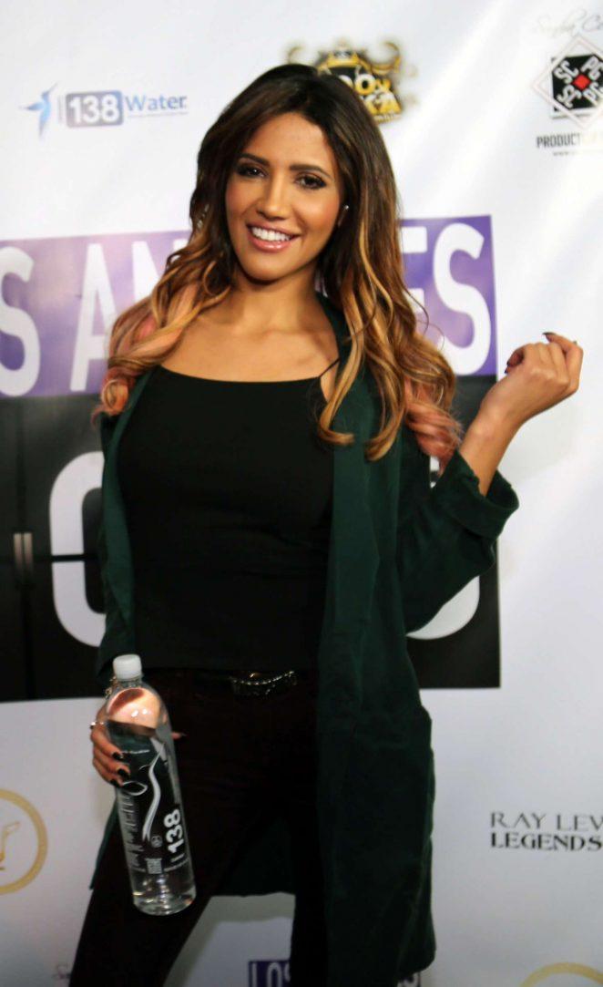 Celisa Franco - Ray Lewis Presents Los Angeles 1000 Hiring Event in LA