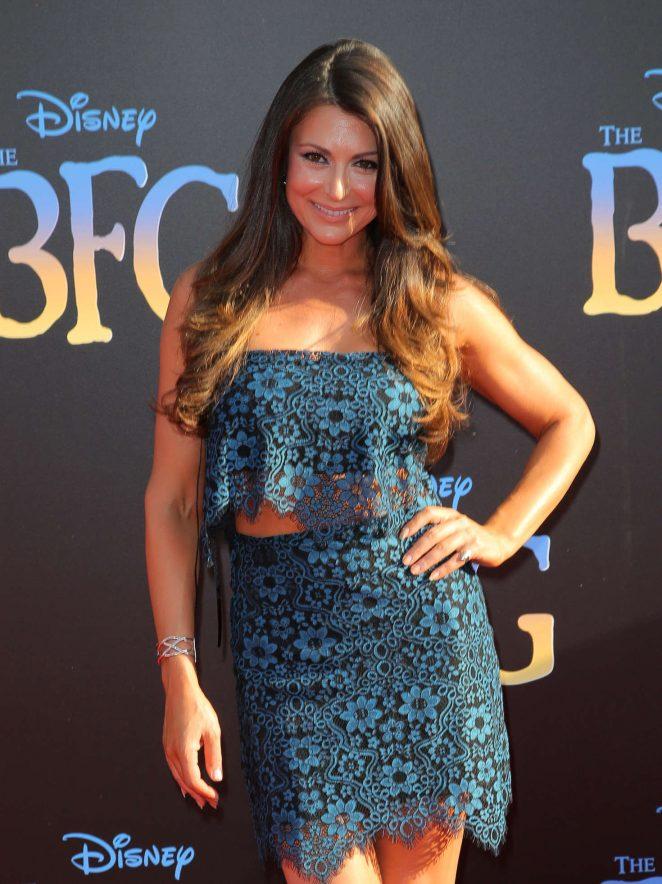 Cerina Vincent - 'The BFG' Premiere in Hollywood