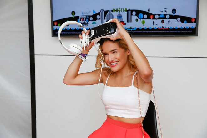 Chachi Gonzales - Samsung Galaxy at Austin City Limits Music Festival 2015 in Austin