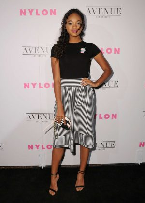 Chandler Kinney - Nylon Young Hollywood May Issue Event in LA