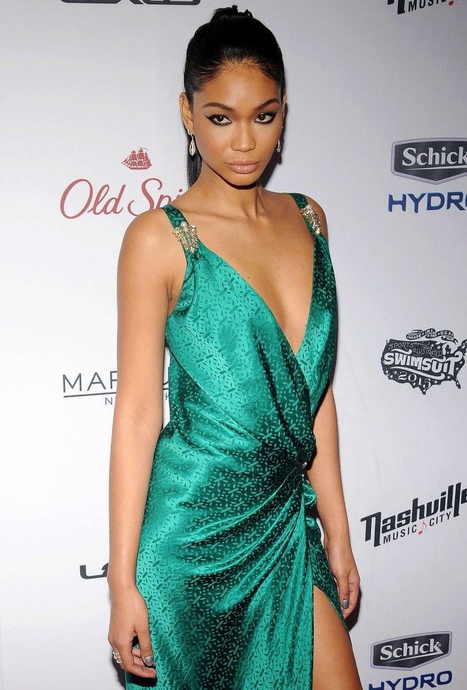 Chanel Iman - 2015 Sports Illustrated Swimsuit Issue Celebration in NYC
