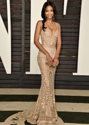 Chanel Iman - 2015 Vanity Fair Oscar Party in Hollywood