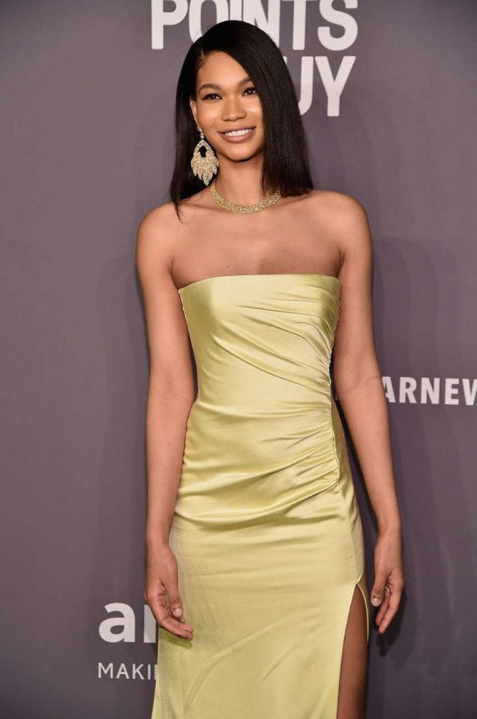 Chanel Iman - amfAR New York Gala 2019 in NYC