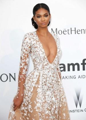 Chanel Iman - amfAR 2015 Cinema Against AIDS Gala in Cannes