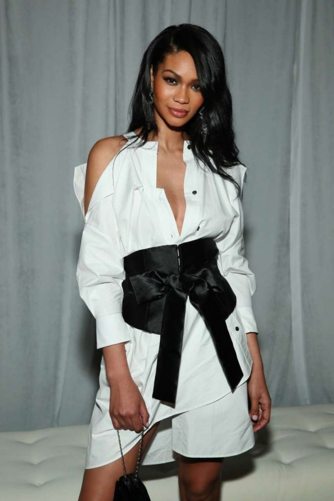 Chanel Iman - CFDA/Vogue Fashion Fund 15th Anniversary Event in Brooklyn
