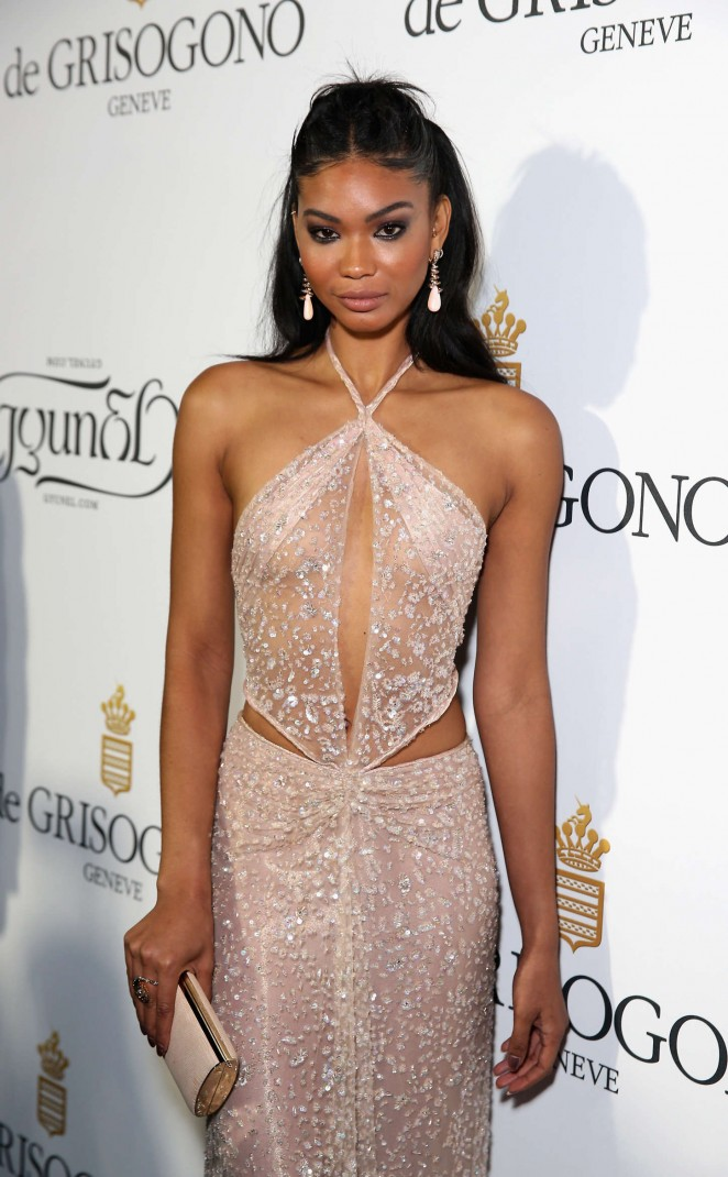 Chanel Iman - De Grisogono Party in Cannes