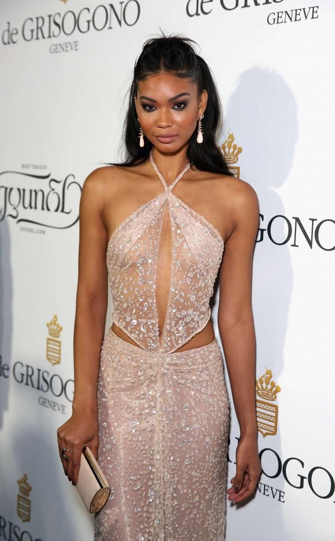 Chanel Iman - De Grisogono Party in Cannes
