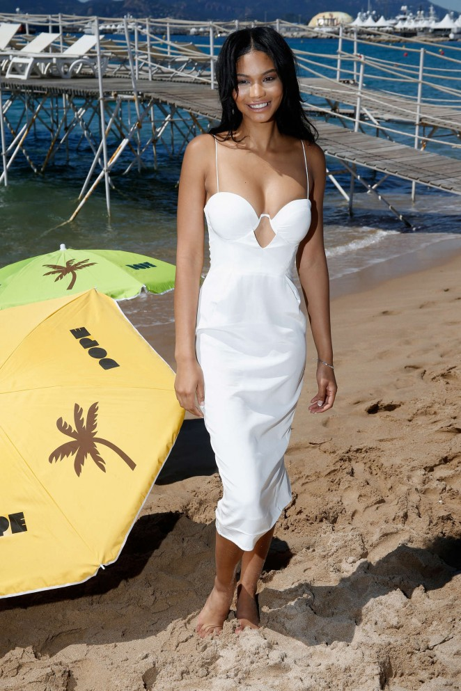 Chanel Iman - 'Dope' Photocall in Cannes