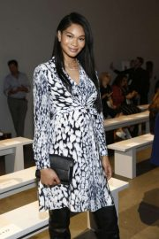Chanel Iman - Elie Tahari Show at New York Fashion Week in NYC