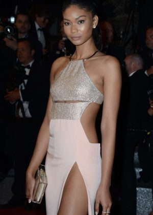 Chanel Iman - 'Hands of Stone' Premiere at 2016 Cannes Film Festival