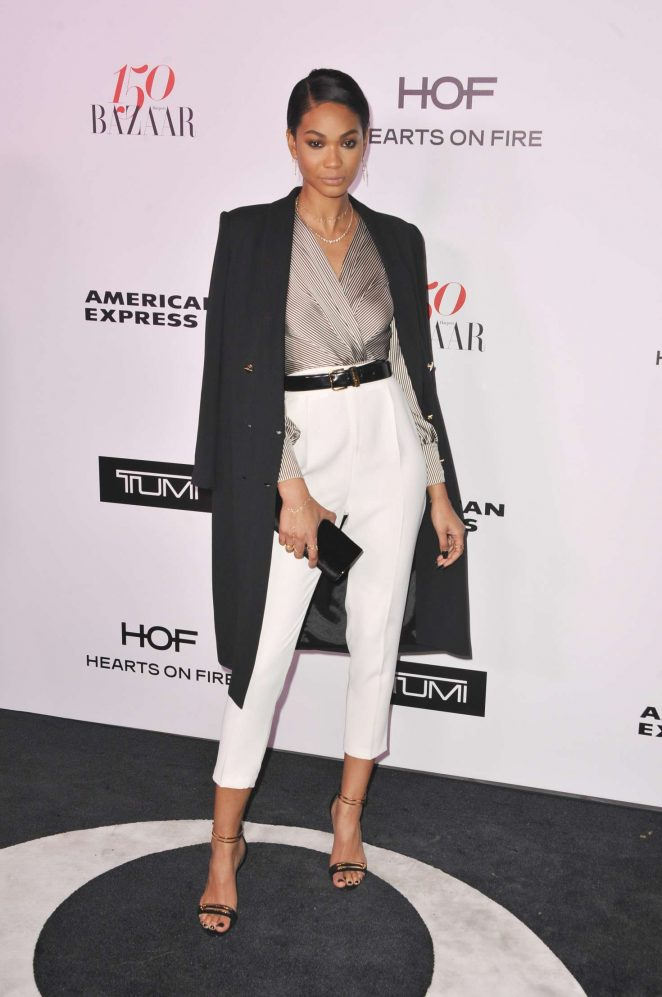 Chanel Iman - Harper's Bazaar Celebrates 150 Most Fashionable Women in West Hollywood