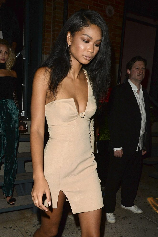 Chanel Iman - Jimmy Choo 20th Anniversary Party in Los Angeles
