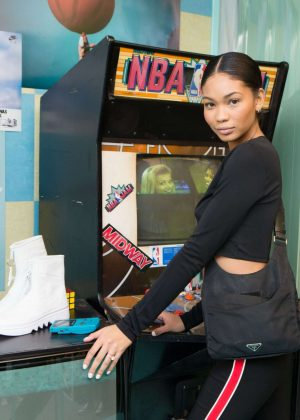 Chanel Iman - Revolve x Nike 'The 1s Reimagined' Party in LA