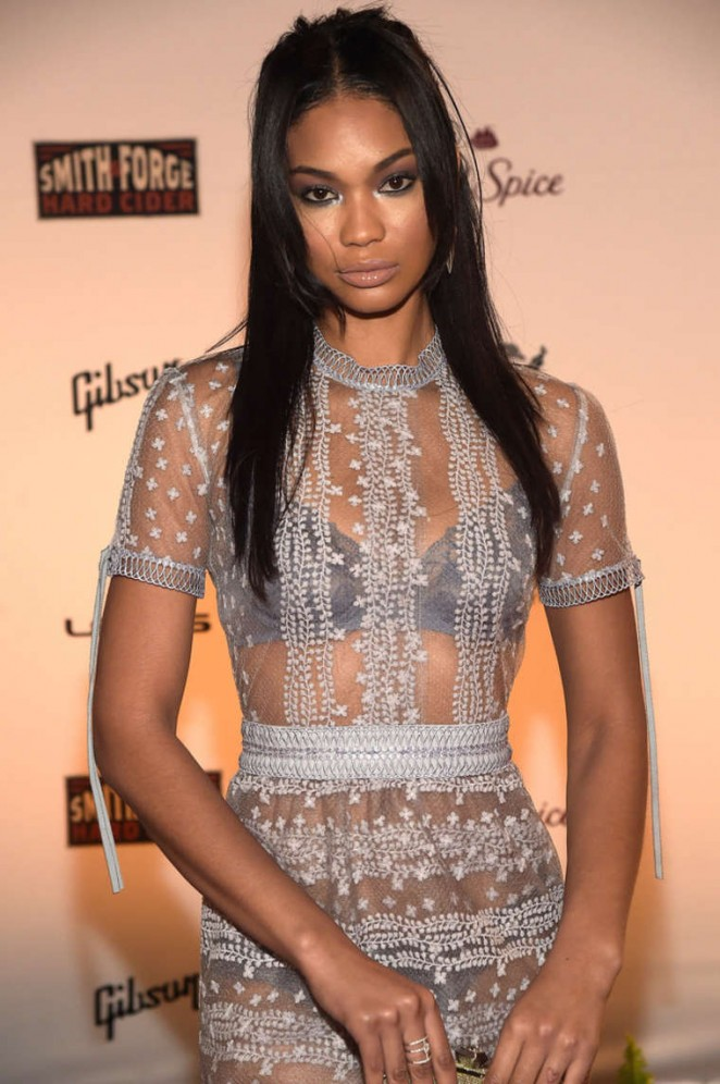Chanel Iman - SI 2015 Swimsuit Takes Over the Schermerhorn Symphony Center in Nashville