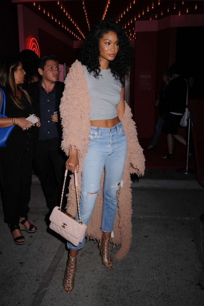 Chanel Iman: Target + IMG NYFW Kickoff Event -03