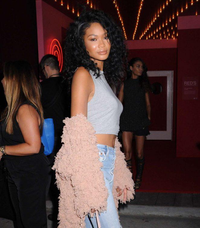 Chanel Iman: Target + IMG NYFW Kickoff Event -08