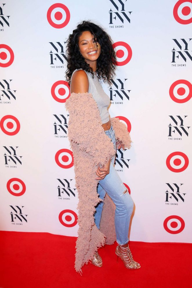 Chanel Iman: Target + IMG NYFW Kickoff Event -13