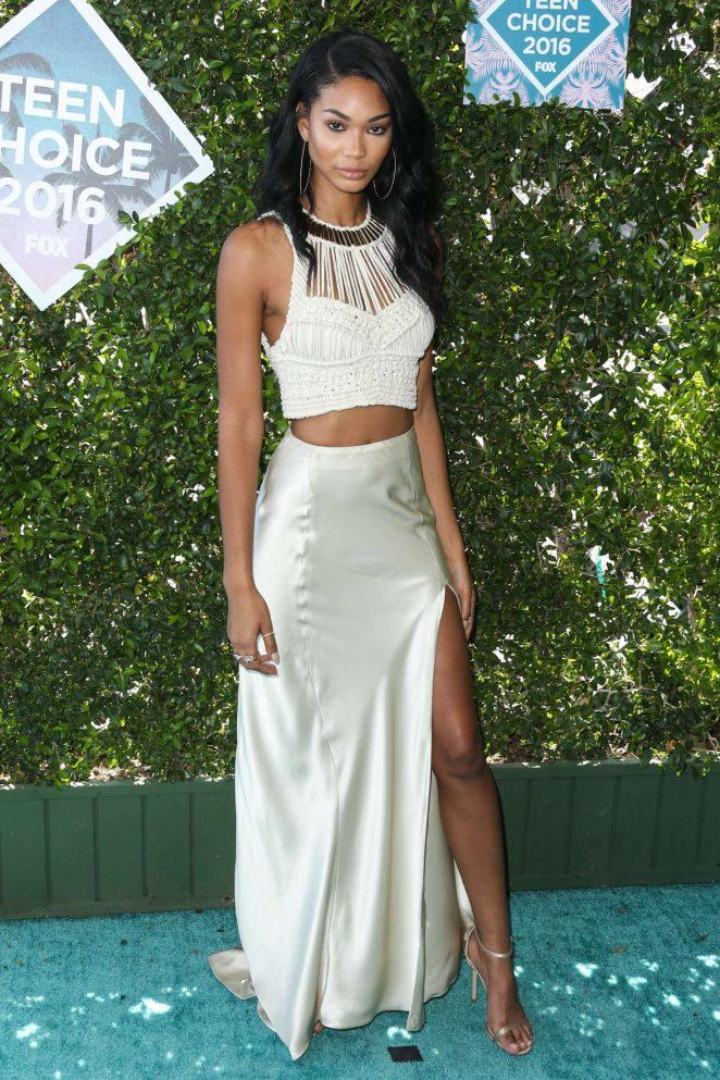 Chanel Iman - Teen Choice Awards 2016 in Inglewood