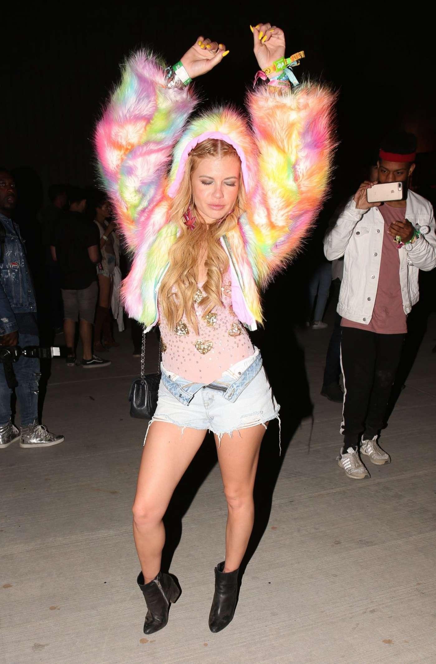 Chanel West Coast Neon Carnival Held At 2017 Coachella