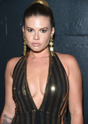 Chanel West Coast - The Blonds show at New York Fashion Week 2017