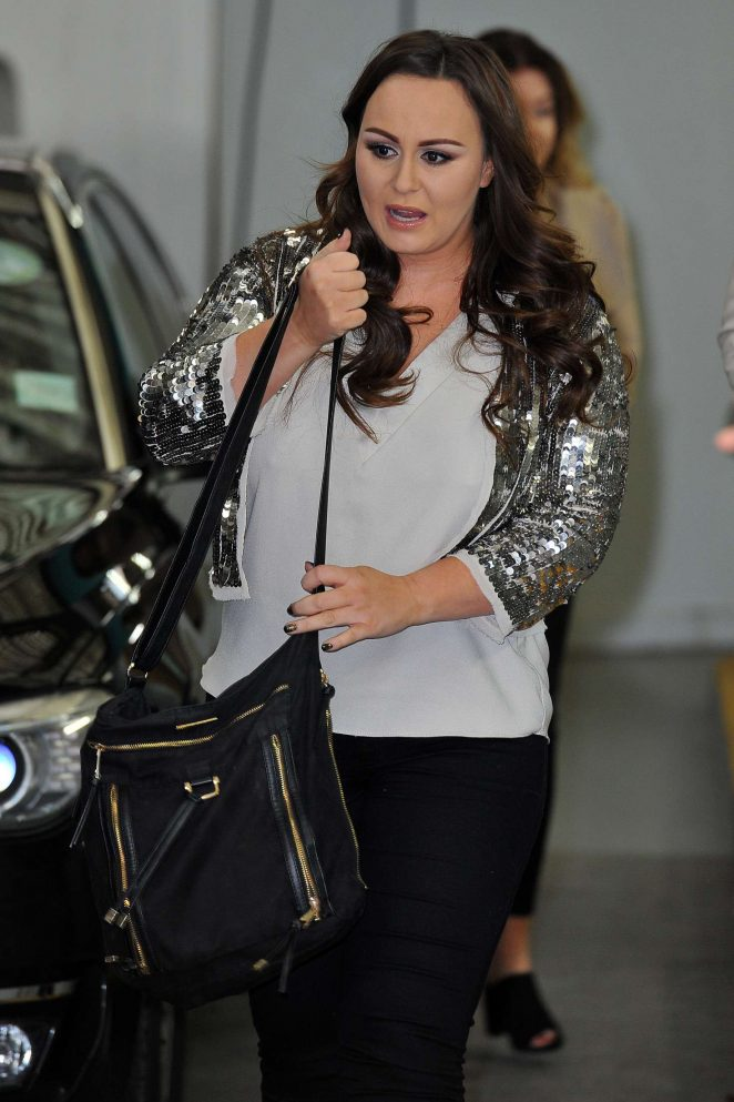 Chanelle Hayes on This Morning show in London