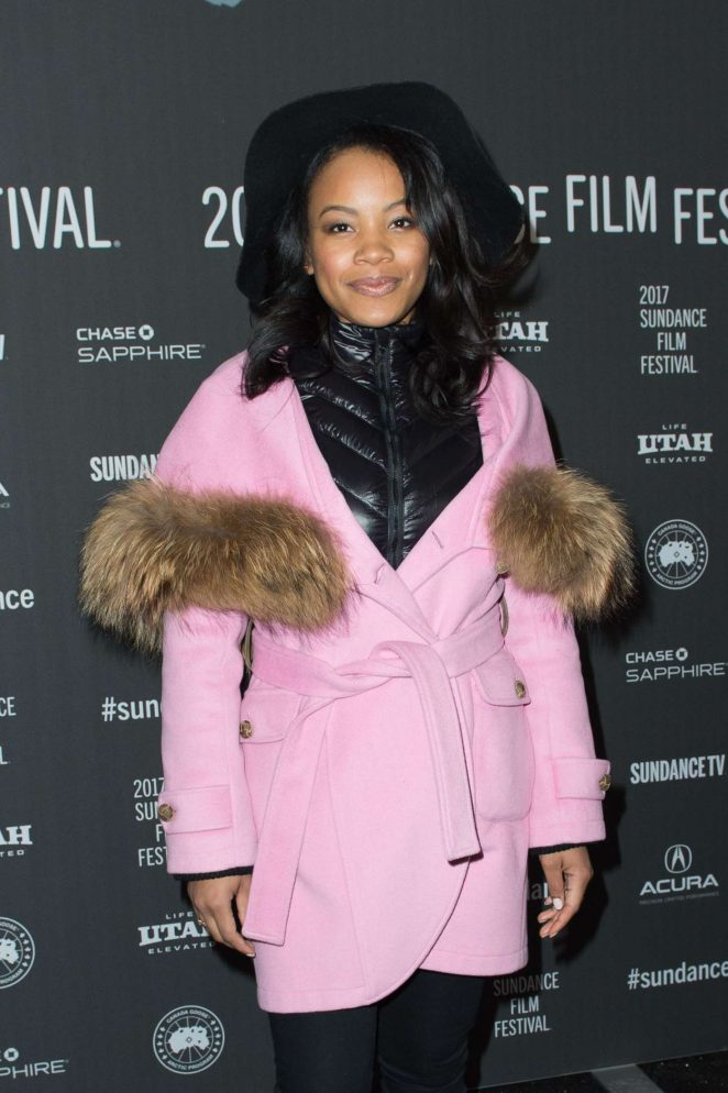 Chante Adams - 'Roxanne Roxanne' Premiere at 2017 Sundance Film Festival in Utah