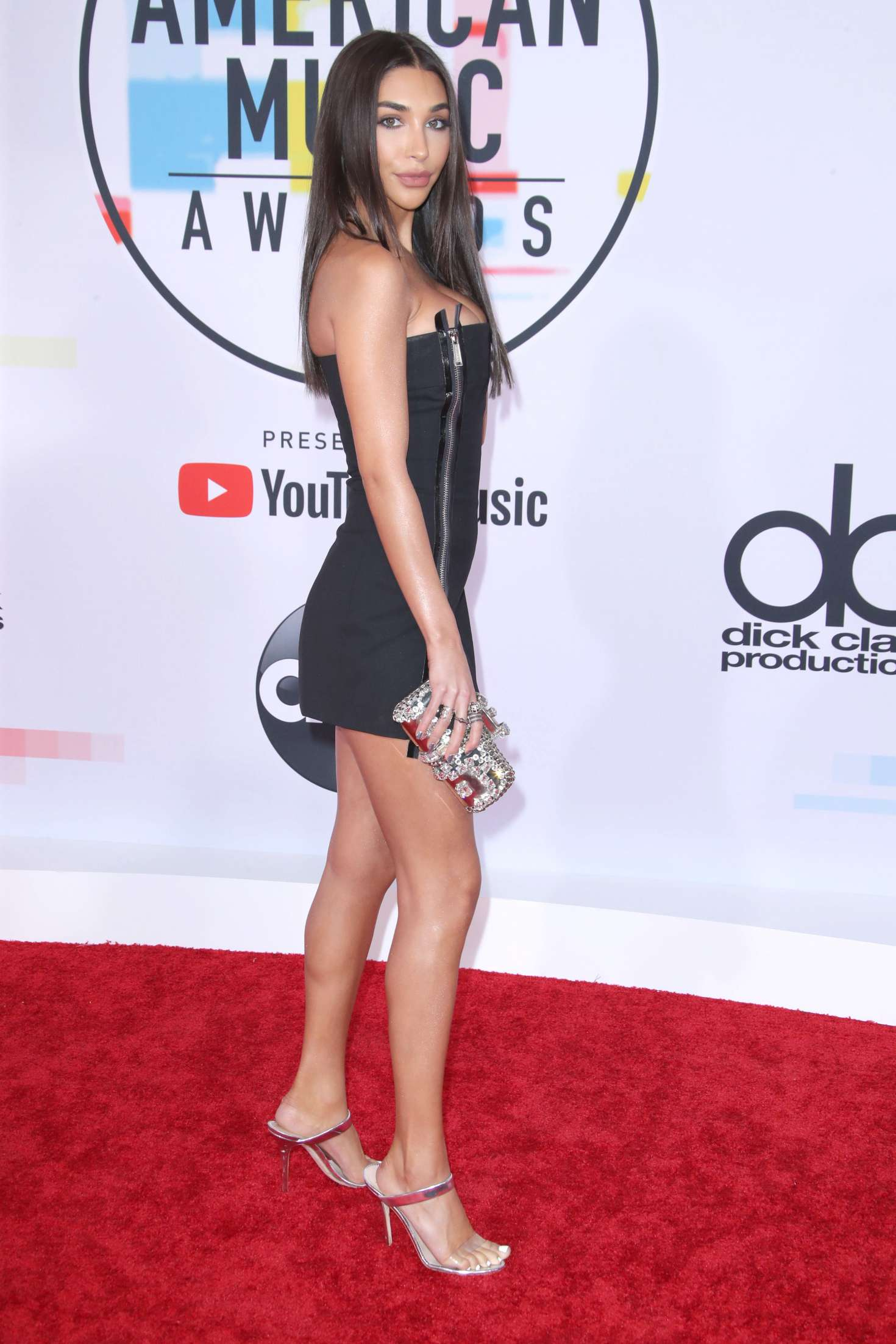 Chantel Jeffries 2018 American Music Awards In Los Angeles