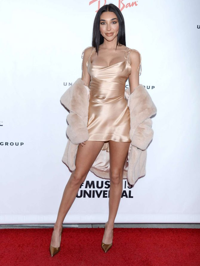 Chantel Jeffries 2019 : Chantel Jeffries: 2019 Universals Grammys After Party -04