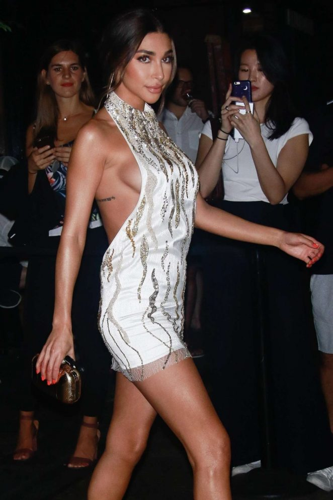 Chantel Jeffries - Arrives at Harper's Bazaar ICONS Party in New York