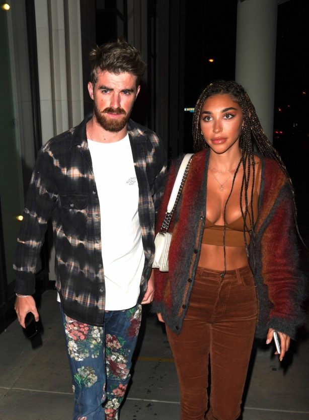 Chantel Jeffries at Catch restaurant in West Hollywood