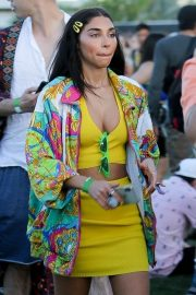 Chantel Jeffries at Coachella Valley Music and Arts Festival in Indio