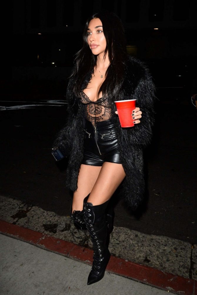 Chantel Jeffries at Nikita Dragun's birthday in West Hollywood