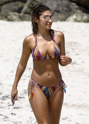 Chantel Jeffries Hot Bikini Candids in South Beach