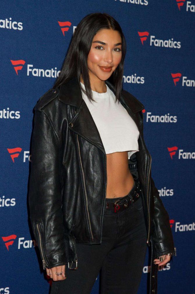 Chantel Jeffries – Fanatics Super Bowl Party in Atlanta