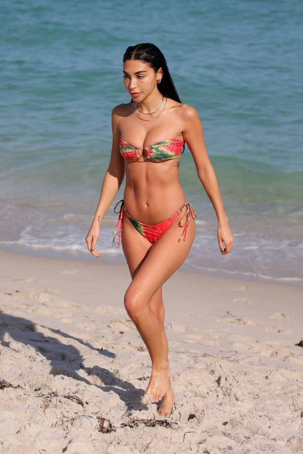 Chantel Jeffries - In a bikini on the beach in Miami
