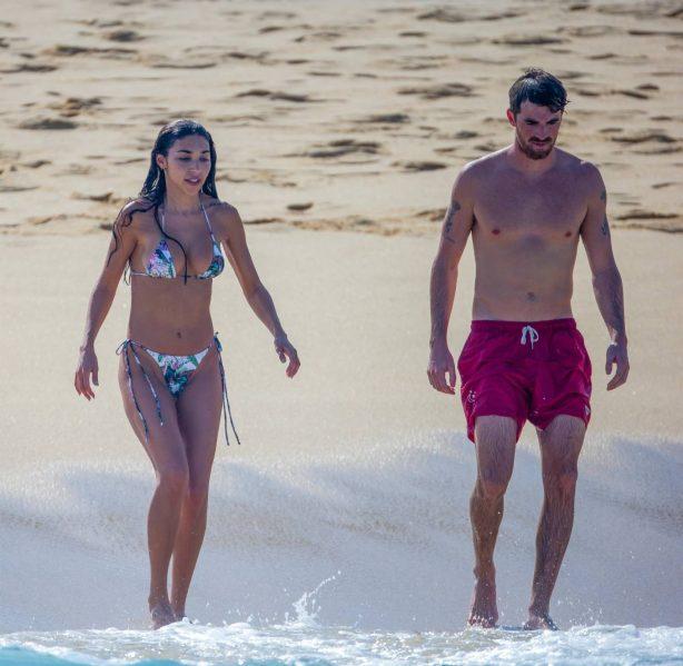 Chantel Jeffries - In a colorful bikini in Cabo San Lucas