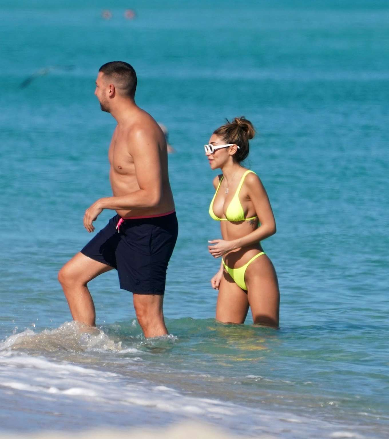 Chantel Jeffries 2019 : Chantel Jeffries in Neon Bikini 2019-03