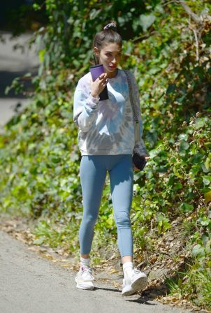 Chantel Jeffries - In yoga pants seen after gym in Los Angeles