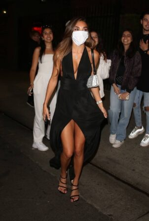 Chantel Jeffries - Leaves Stassie Karanikolaou's birthday party in Los Angeles