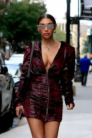 Chantel Jeffries - Looks stunning while out in New York
